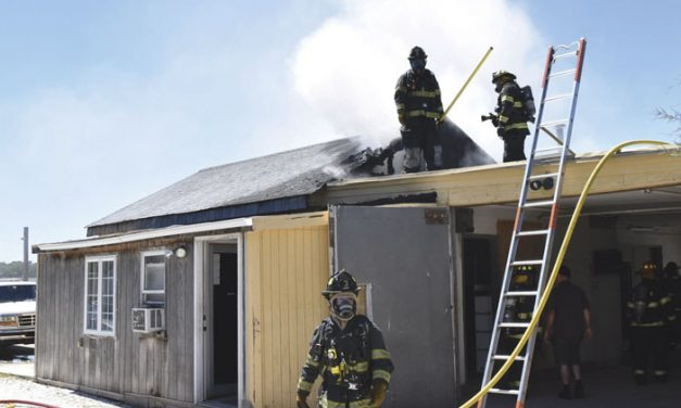 Scullville Commercial Fire…and Then Some