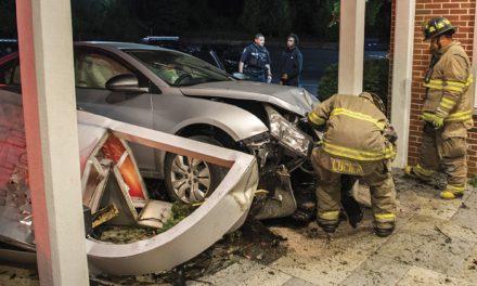 Sleeping Driver Crashes Into Church