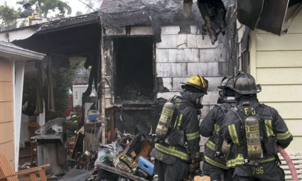 1 Burned in Hicksville House Fire