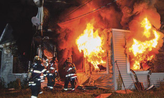 Hempstead Vacant House Fire