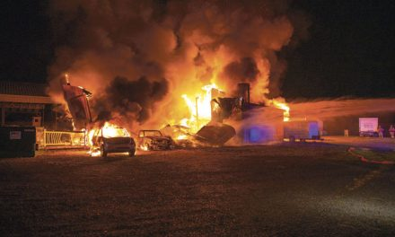 All Hands Barn Fire in Shamong