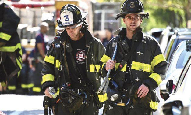 Flames Rage in East Harlem