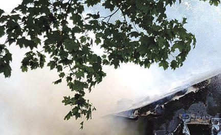 Bridgeton Structure Fire…Again
