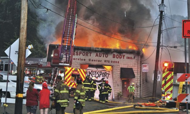 Wires Spark Fire and Explosions in McKeesport